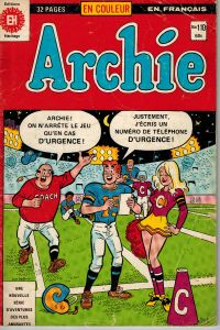 Archie #110 French Comic 1980