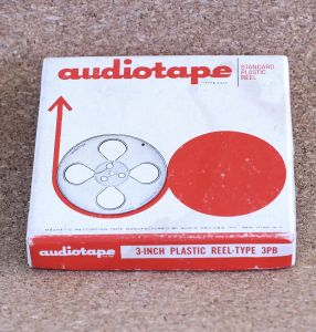 Audiotape 3-inch Plastic Reel-Type 3PB Tape