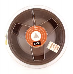 "BASF 7"" Reel to Reel Tape in Soft Case"