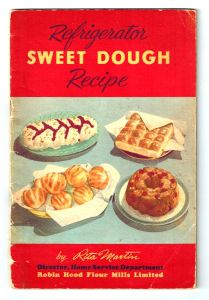 Refrigerator Sweet Dough Recipe