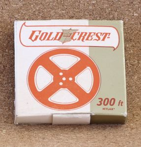 Gold Crest 3 Inches Reel to Reel Tape