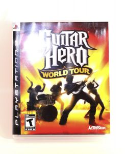 Guitar Hero World Tour Playstation 3