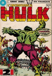 L' Incroyable HULK #136/137 French Comic Format Double