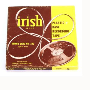 Irish Brand Plastic Base Recording Tape
