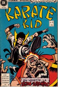 Karate Kid #4 French Comic Format Special 1976