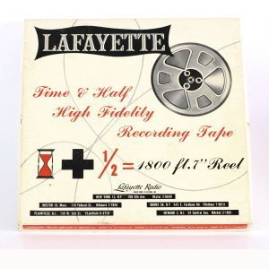 Lafayette High Fidelity Recording Tape