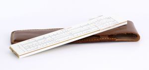 Hughes Owens 5 inches Slide Rule