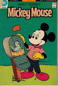 Walt Disney Mickey Mouse #11 French Comic Book 1980