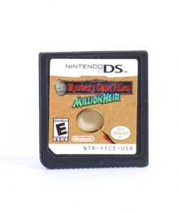 Mystery Case Files Million Heir Nintendo DS