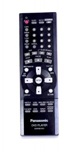 Panasonic DVD Player EUR7621010 Remote Control