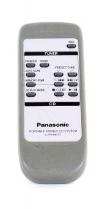 Panasonic Portable Stereo CD System EUR648257 Remote Control