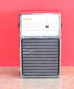 Transistor Pocket AM Radio Philips 90RL073