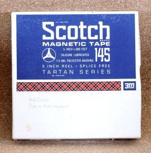 Scotch Reel to Reel Magnetic Tape 145 - 3M
