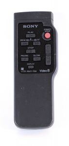 Sony Video 8 VTR RMT-708 Remote Control