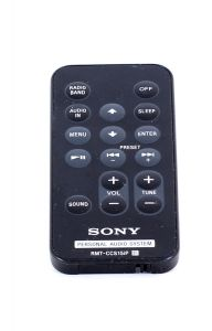 Sony Personal Audio System RMT-CCS15iP Remote Control