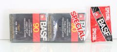 8-Track Cartridge Tape BASF 90 min Low Noise Extended Range Unrecorded Set of 2