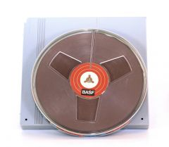 BASF 7 inches Reel to Reel Tape Hard Case