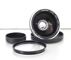 Digital Optics Ultra Wide 0.38x W/Macro Lens Bower 25-37 Bower UV 62mm Filter