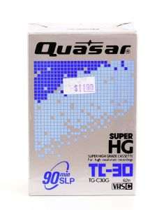 Quasar Super High Grade Cassette TC-30
